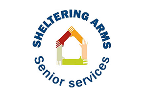 Logo for Sheltering Arms Senior Services