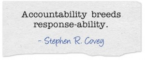 Inspiring a Culture of Personal Accountability throughout your Organization